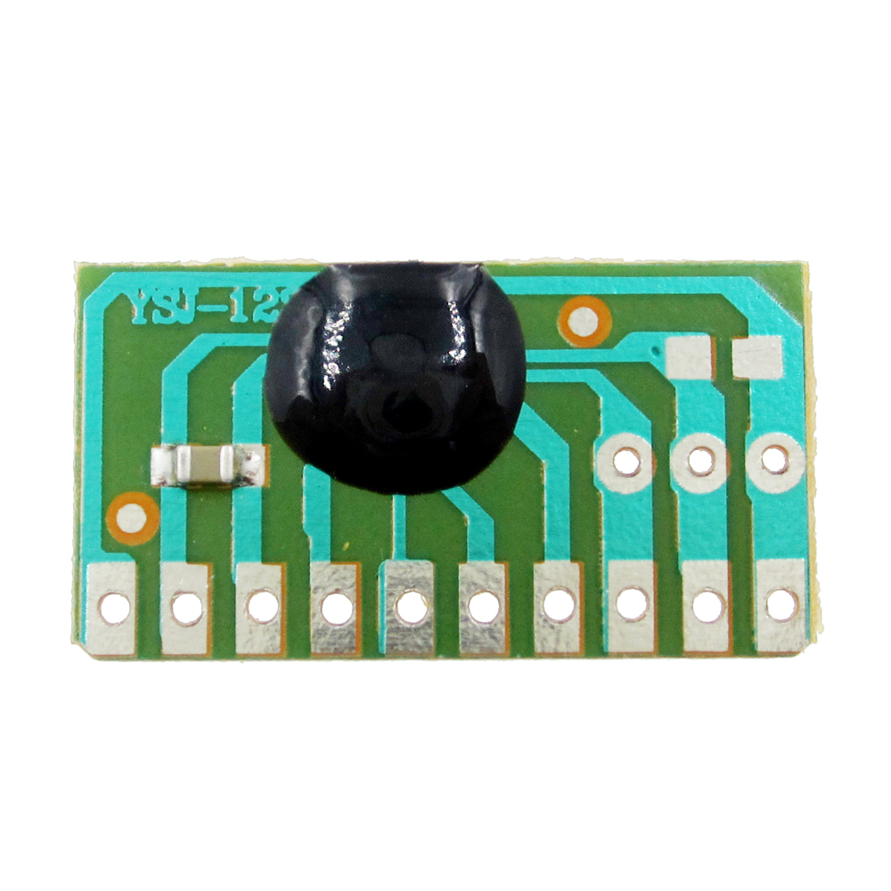 5PCS 12 childrens songs, music module YSJ-12S dual tone 12 English music with LED scintillation module