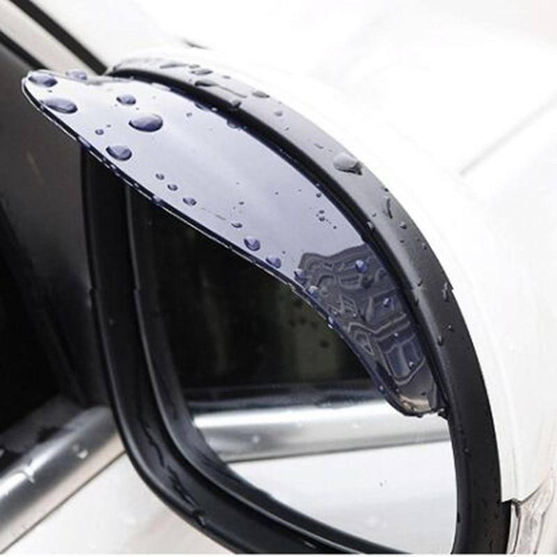 Car Rearview Mirror Rain Blades car back mirror eyebrow rain cover for Abarth Ssangyong Kyron Rexton Korando Fiat 500 Lifan x60 решетка радиатора lifan x60 x60