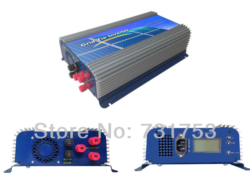 MAYLAR@ 2000W  Wind Grid Tie Inverter,  For 48V  (AC Wind Turbine) ,LCD Display ,90-260VAC , 50Hz /60Hz maylar 300w wind grid tie inverter for 3 phase 24 48v ac wind turbine input 22 60v output 90 260v 50hz 60hz no need controller