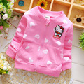 free shipping 2016 Spring Cotton Knitting Boys Girls Jackets Cardigan baby kids Coat Children Brands clothing Outwear Coats