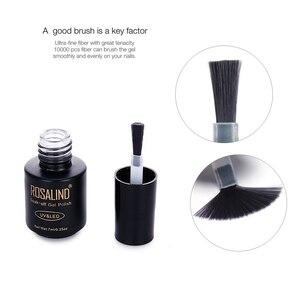Image 3 - ROSALIND топ и база для ногтей каучуковая база праймер для ногтей  для ногтей и база 7 мл все для маникюра гель лак для ногтей