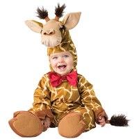 Babys Cuddly Giraffe Wild Animal Halloween Costume Turn Your Little One Into The Safari Heart Throb