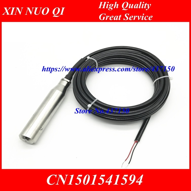 Transmisor de nivel de combustible líquido, transmisor de nivel integrado de silicona difusa, sensor de nivel de líquido, salida RS485 de 4 20mA