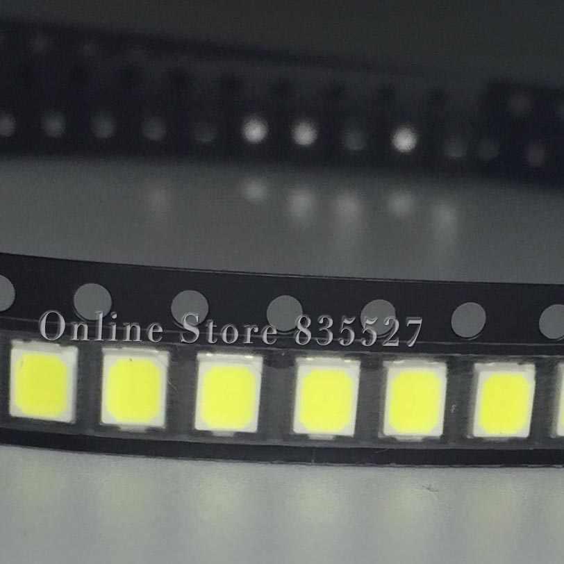 200 sztuk/partia 2835 SMD czysta biel/naturalna biel/ciepły biały/zimny biały LED 23-25 lm jasna lampa koraliki dioda elektroluminescencyjna
