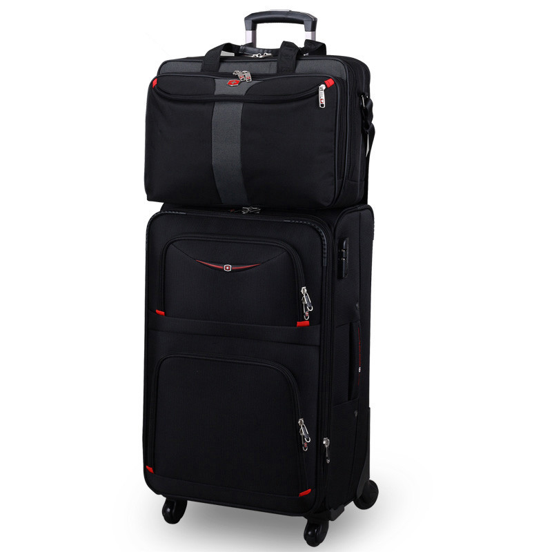 18 20 22 24 26 28-inch foto's commerciële trolley-bagagesets op - Trolley en reistassen - Foto 1