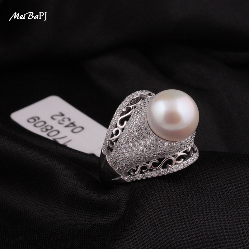 [MeiBaPJ] Promesa de alta calidad 4A conjuntos de joyas de perlas - Joyas - foto 3
