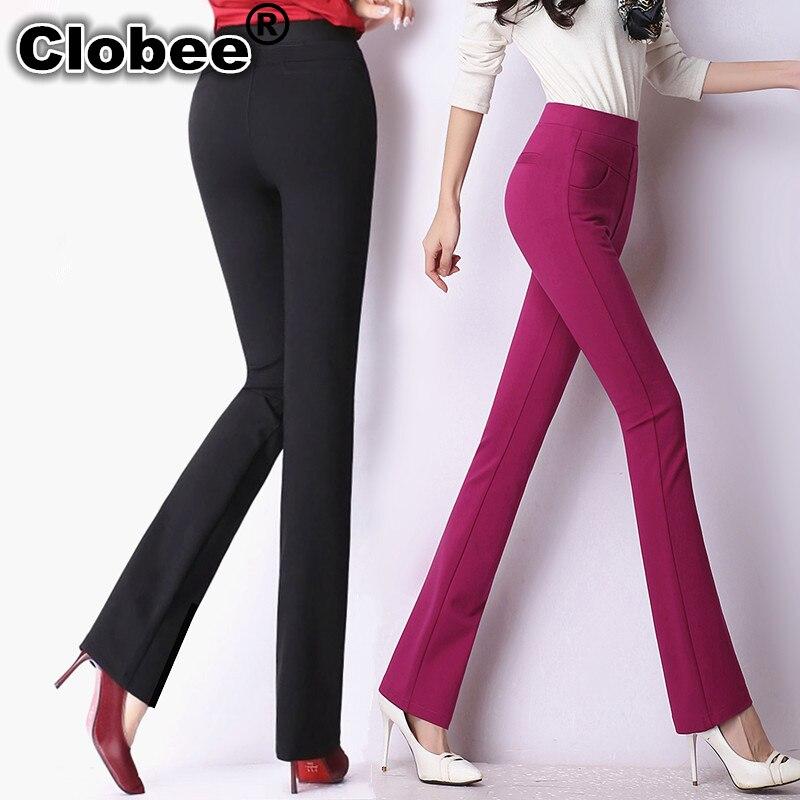 2018 office women classical business suit high waist pants