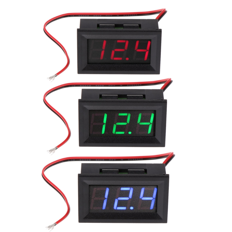 все цены на OOTDTY 1PC DC 4.5V-30V Digital Voltmeter 0.56