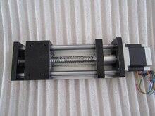 CNC GGP 1605 ballscrew Подвижный Стол полезный ход 100 мм Направляющая XYZ оси Линейного движения + 1 шт. nema 23 шаговый двигатель