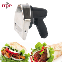 itop electric doner kebab slicer kebab shawarma knife meat cleaver kitchen knife eu us uk plug Electric Kitchen Knife Doner Kebab Knife Meat Slicer Shawarma Cutter UL PLUG EURO PLUG