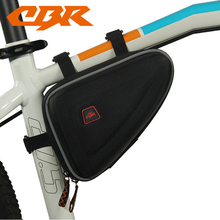 CBR Bicycle Bag Waterproof 1.5L Outdoor Triangle Cycling Bicycle Front Tube Frame Bag Mountain Bike Pouch Waterproof Bag