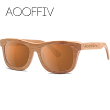 Fashion HD Lens package fashionable restore ancient ways natural environmental protection man bamboo wood polarized sunglasses