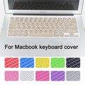 Мода Красочные США версия Английский язык Силиконовые клавиатуры обложка для macbook air 11 дюймов Протектор Наклейка пленки