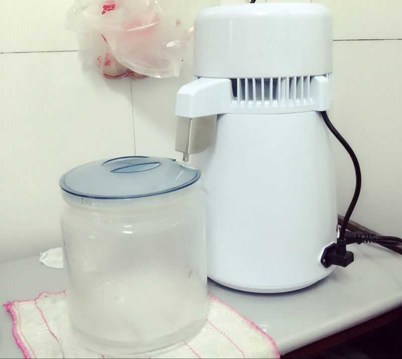Нержавеющая сталь бытовые дистиллятор зубные чистой воды дистиллятор алкоголя воды Дистилляция машина с стеклянной бутылки