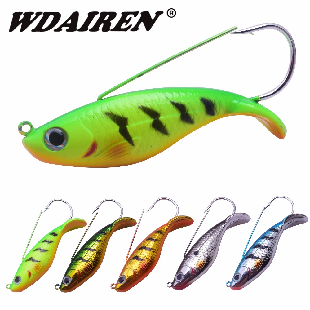 1Pcs Fishing Lure Black Large 85mm 21.5g Bass Fish Anti-hang grass hook Sequin Beard Pike Jig Spinner bait Fishing Tackle FA-527 50pcs new wifreo soft lure loader locker connector fishing worm hook bait accessories for bass fishing wholesale