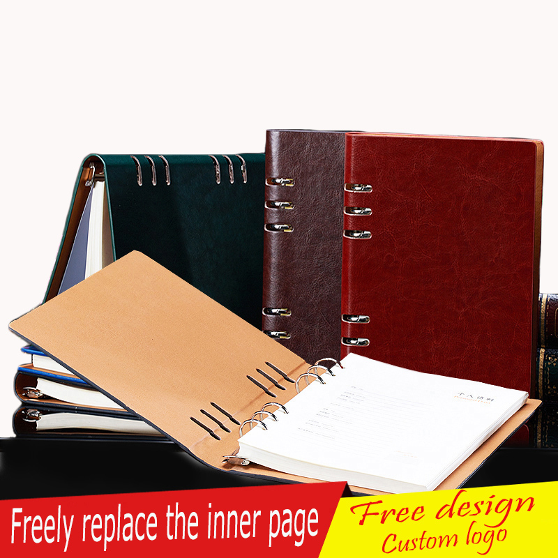 School Office A5 A4 B5 A6 Hardcover Notebook, Journal Gifts for Teacher Students , Black Wine Green Blue Coffee give a pen