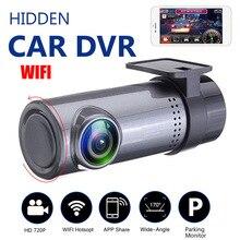 Mini 1080P Dash Cam Car DVR Vehicle Mounted Recorder HD Night Vision USB Monitoring Hidden Smart Wifi Tachograph