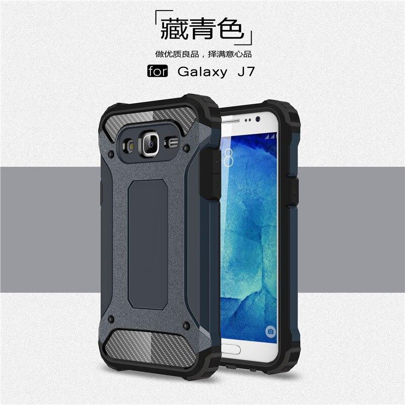 Hybrid carcasas para Cell Phone Back Cover For Samsung Galaxy J7 2016 - Ανταλλακτικά και αξεσουάρ κινητών τηλεφώνων - Φωτογραφία 2