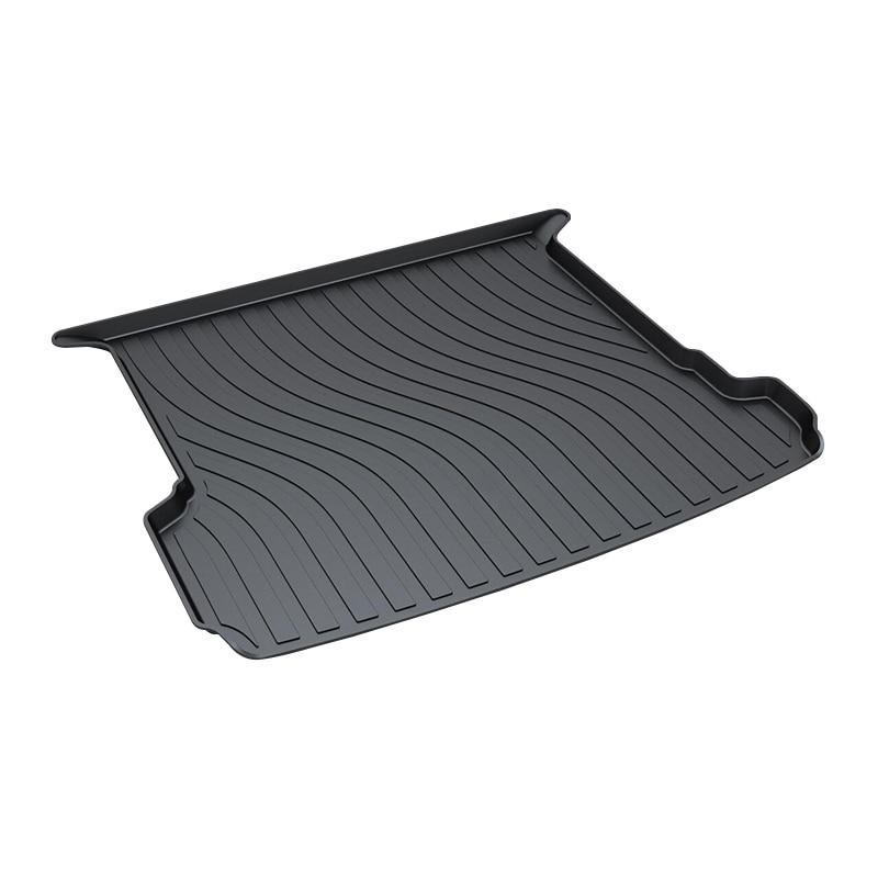 3D Trunk Tray Mat For Audi Q7 2016,Premium Waterproof Anti-Slip Car Pad for honda jazz trunk tray mat tpo waterproof anti slip car trunk carpet luggage cover black