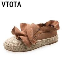 VTOTA Flat Shoes Women 2017zapatillas Mujer Casual Slip On Shoes For Women Shoes Platform Women Espadrilles