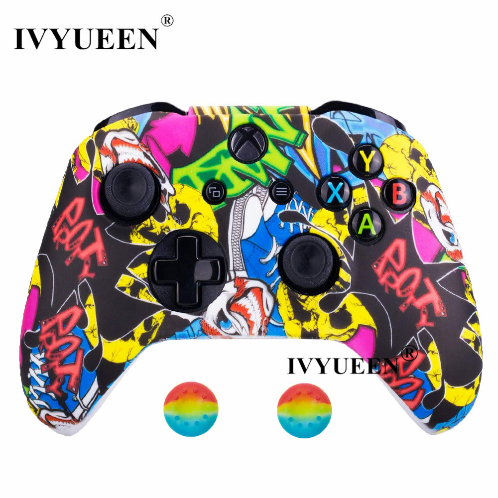 for Xbox one S controller silicone case skin14