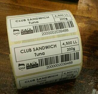 Tout neuf en gros thermique bar code QR code étiquette imprimante haute qualité vêtements tags supermarché prix autocollant imprimante - 4