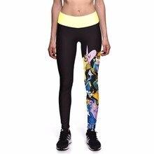 NEW 0020 Fashion Sexy Girl Women Adventure Time Unicorn 3D Prints High Waist Workout Fitness Women Leggings Jogger Pants
