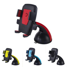 360 Rotation Suction mobile phone Stander holder bracket for iPhone Windshield Retractable Car Holder For Samsung Phone Mount