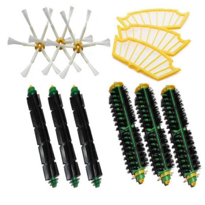 Filters & Brush Pack Mega Kit for iRobot Roomba 500 Series 6 Armed Brand New filters