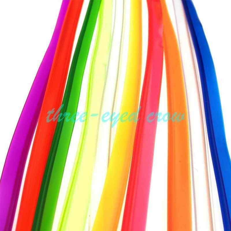 5 M 15FT 8 мм Швейные край неоновый свет Танцевальная Вечеринка света автомобиля неоновый, гнущийся EL провода края веревка для Светодиодные ленты с выходом 5 V USB разъем