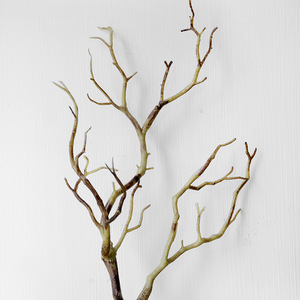 Image 2 - 1pc 35cm Dry Artificial Fake Foliage Plant Tree Branch Wedding Home Church Office Furniture Decoration Peacock Coral Branches