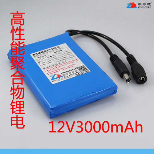 In the 11.1V 3000 Ma lithium polymer battery 407590 12V 3AH square dance sound 515573 Rechargeable Li-ion Cell brown 3 7v lithium polymer battery 7565121 charging treasure mobile power charging core 8000 ma rechargeable li ion cell