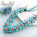 Especial moda perlas naturales Maxi collares y colgantes declaración de la piedra Natural collar de collar Girls mujeres que envían libremente XL150202