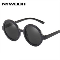 NYWOOH Retro Sunglasses Women Vintage Small Round  ...