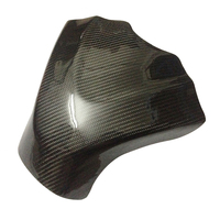 Real Carbon Fiber 3D Motorcycle Tank Pad Protector Stickers Case for SUZUKI GSXR1000 GSXR 1000 2009 2015 K9