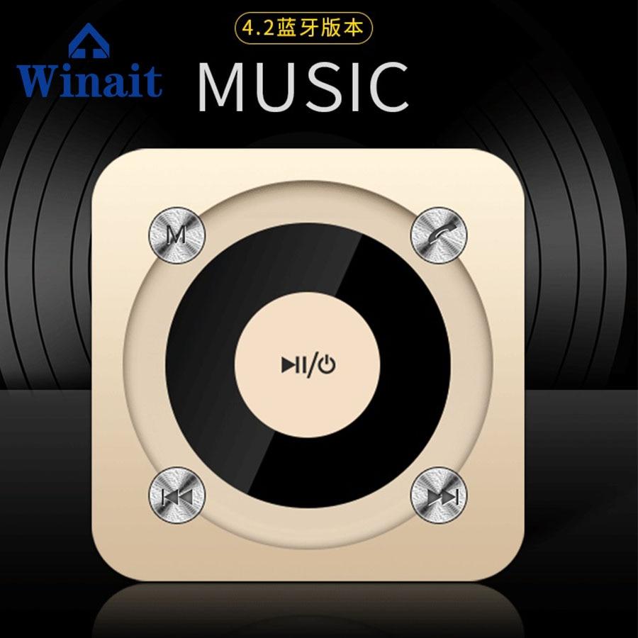 Winait 2017 cheap wireless speaker with High fidelity bass horn wireless through wall technology