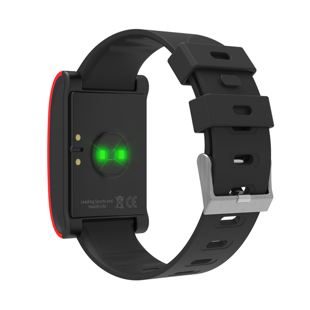LEMDIOE DM68 waterproof smart band wristband fitness tracker Blood Pressure heart rate monitor Calls Messages watch for phone 19