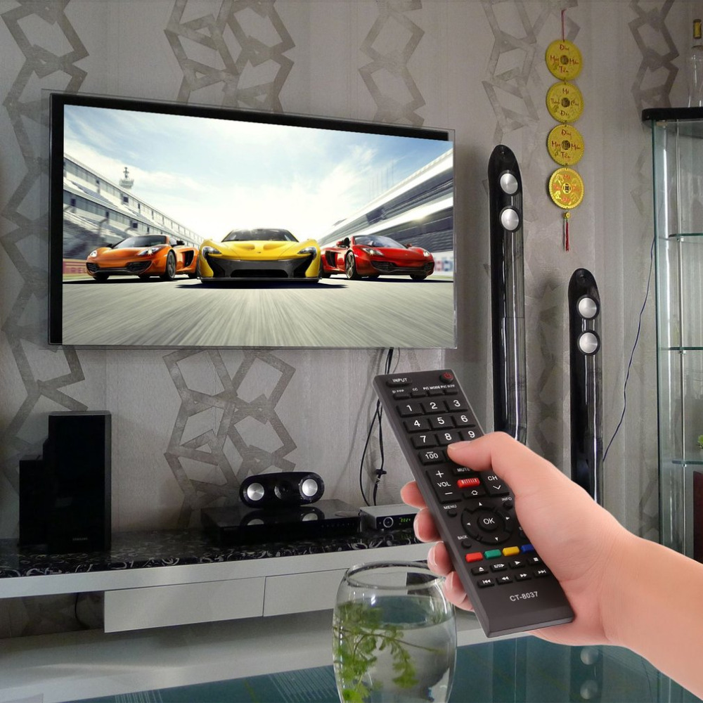 1 pcs TV Smart Remote Control Controller Perfect Replacement Fit For To