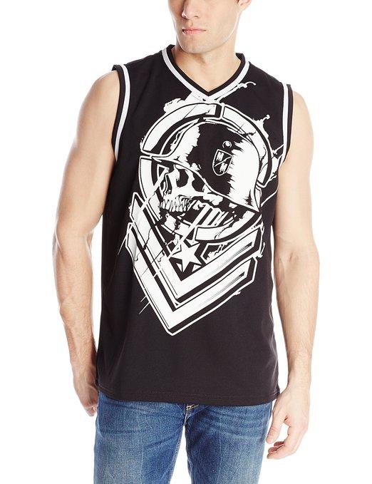 Men's MX BMX Metal Head Mesh   Tank     Top   USA Size S,M,L(With Slight Stain On Print)