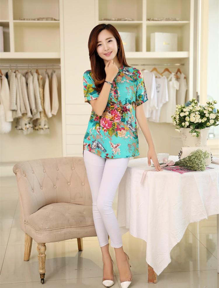 HTB1x3aXNXXXXXcrapXXq6xXFXXXu - 2016 high quality Summer style Kimono blouses top Plus size XS-5XL