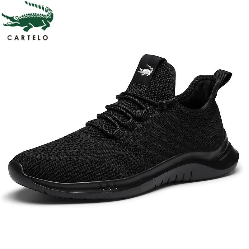 CARTELO chaussures pour hommes mode chaussures décontractées sauvages hommes confortable antidérapant porter des chaussures baskets