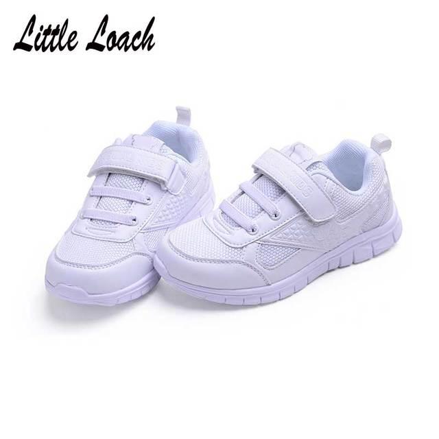 Teenage School Sport Shoes Kids Trainers Walking Running Light Wear