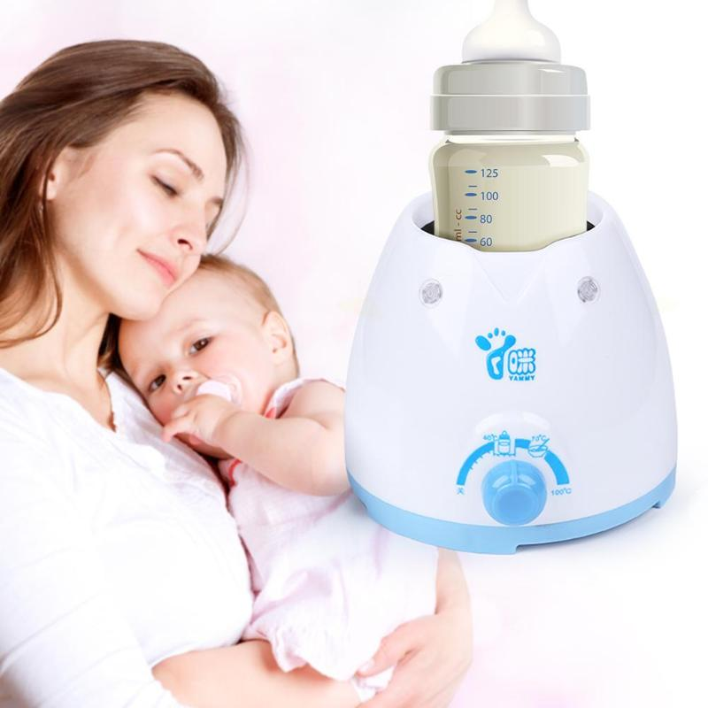 Newborn Baby Feeding Bottle Warmer Infant Milk Bottle Automatic Thermostat Heating Warmer Device Kids Nipples Spoons Sterilizers