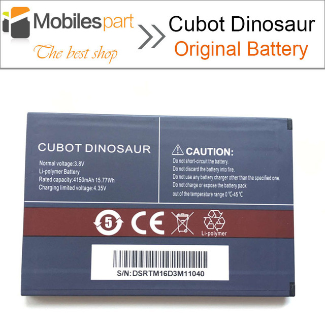 CUBOT Dinosaur Battery New High Quality Replacement 4150mAh Li-ion Battery for CUBOT Dinosaur Smartphone Free Shipping