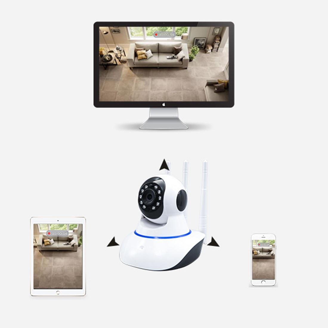 880 nouvelle haute définition Cloud stockage caméra de sécurité téléphone Mobile à distance sans fil WIFI intelligent petite caméra de Surveillance de bébé - 5