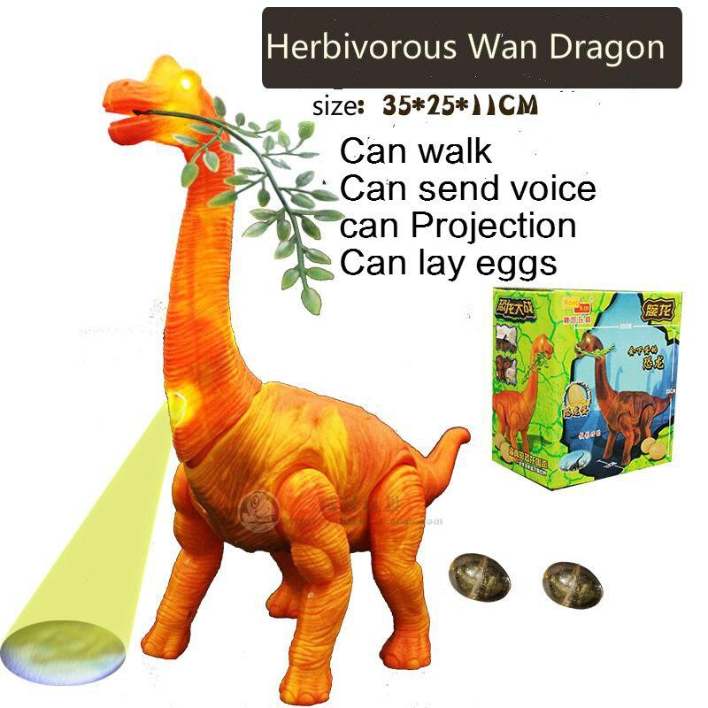 35 cm hierba eléctrica Wan Dragón Juguete modelo animal simulación walking wings