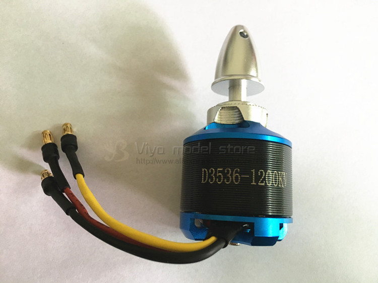 DIY D 3536 1200kv  motor outrunner brushless motor for RC airplane 2000mm 2M Skysurfer FPV Remote control glider plane free ship airplane rc model 2830 kv1000 outrunner brushless motor for 1700mm whisper wind