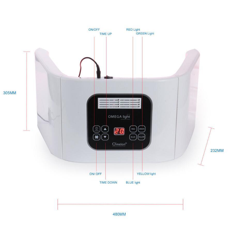 New 4 Colors Light Photon Electric LED Facial Care Skin PDT Skin Rejuvenation Anti Acne  ...
