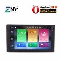 Android 8,0 4 ГБ Оперативная память Универсальный 2 Din Авто Радио 7 стерео головного устройства Аудио Видео плеер gps навигации bluetooth WI FI No DVD