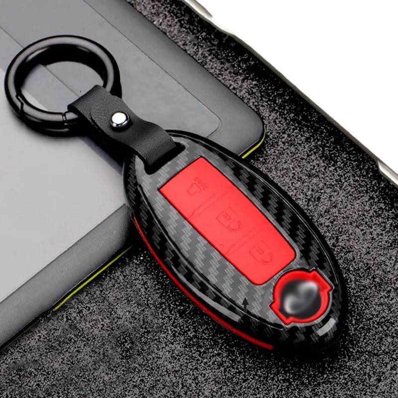 Car <font><b>Accessories</b></font> for <font><b>Infiniti</b></font> Q50L QX50 QX60 QX70L <font><b>QX80</b></font> ESQ key bag cover ABS decoration protection Key Case shell for car image